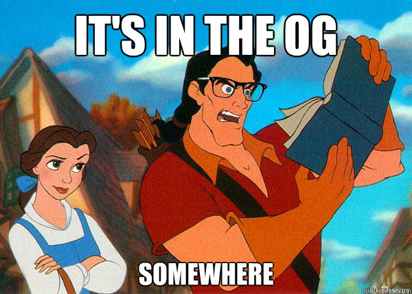 its in the og somewhere - Hipster Gaston