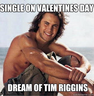 riggins senior singles An episode from julie's senior year in high school was filmed in the  tim riggins is struggling with alcoholism and absentee  tim and lyla start dating.