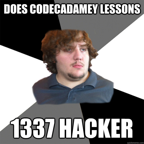 does codecadamey lessons 1337 hacker - Family Tech Support Guy
