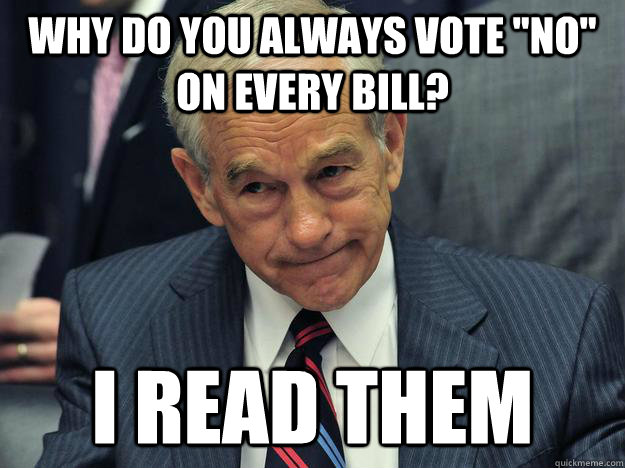 write in Ron Paul
