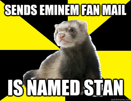 sends eminem fan mail is named stan - Fanboy Ferret