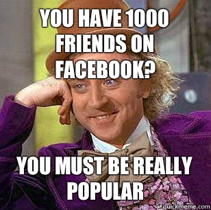 You have 1000 friends on Facebook You must be really good at - Marquette Basketball