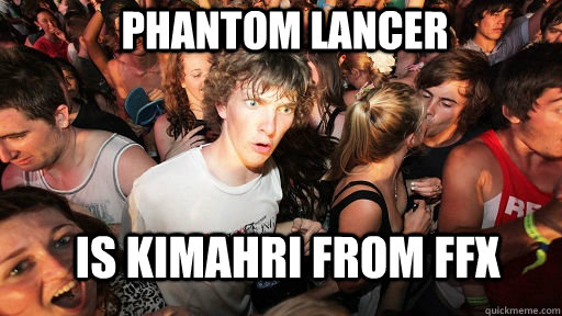 phantom lancer is kimahri from ffx - Sudden Clarity Clarence