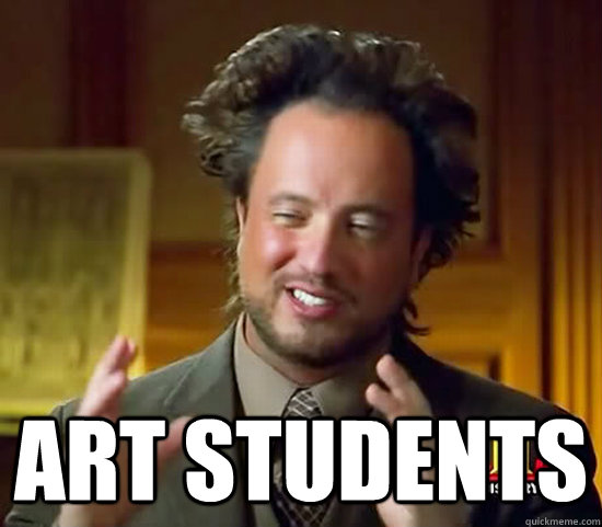 art students - Ancient Aliens
