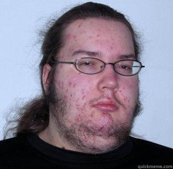60 - neckbeard