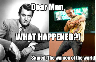 dear men what happened signed the women of the world - Men What Happened