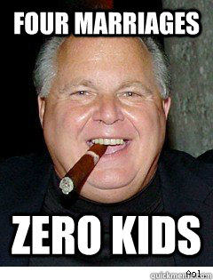 limbaugh marriages