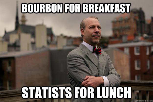 bourbon for breakfast statists for lunch - Jeffrey Tucker