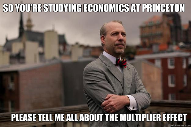 so youre studying economics at princeton please tell me al - Jeffrey Tucker