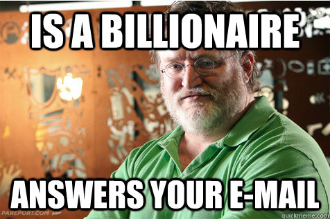 is a billionaire answers your email - Good Guy Gabe