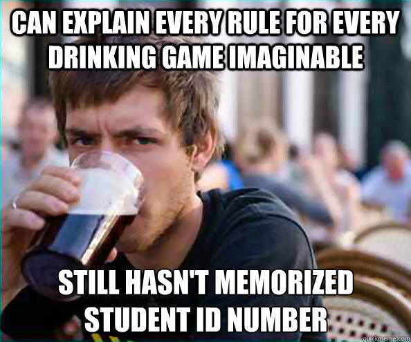 can explain every rule for every drinking game imaginable st - Lazy College Senior