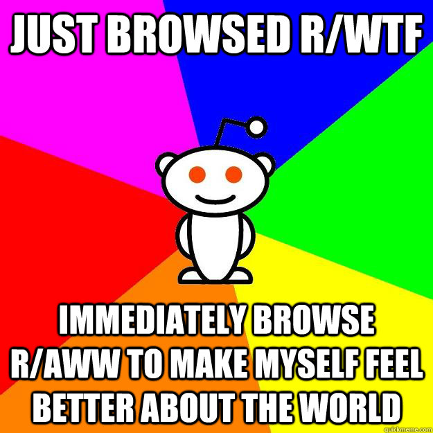 just browsed rwtf immediately browse raww to make myself f - Reddit Alien