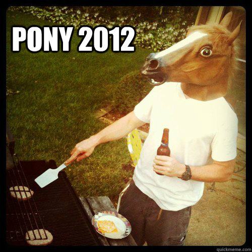 pony 2012 - PONY 2012