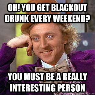 blackout drunk