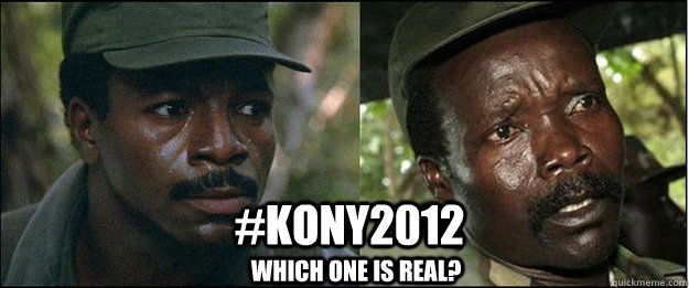 kony2012 which one is real - Kony2012