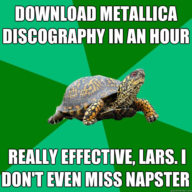 download metallica discography in an hour really effective - Torrenting Turtle