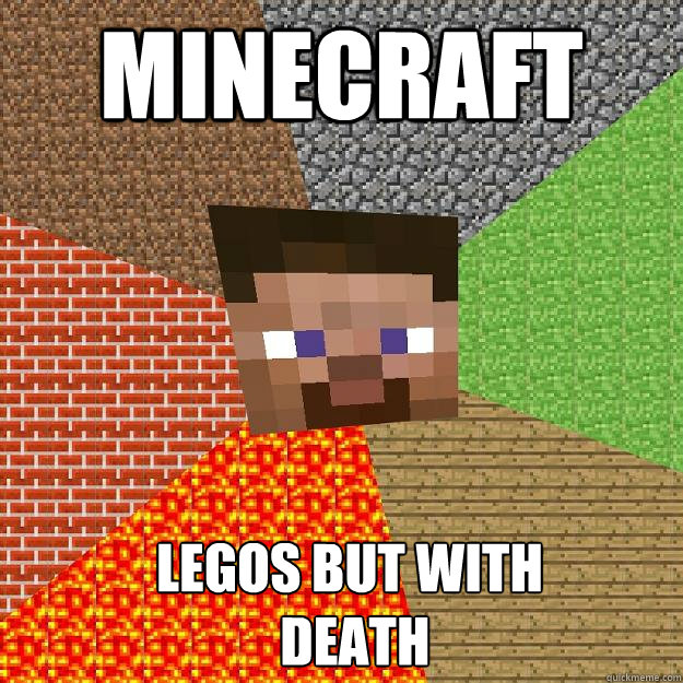 minecraft legos but with death - Minecraft
