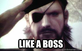 like a boss - I Used To Big Boss