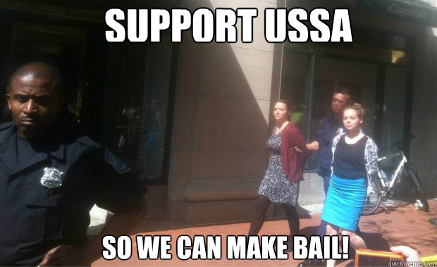 support ussa so we can make bail - Bail Out USSA