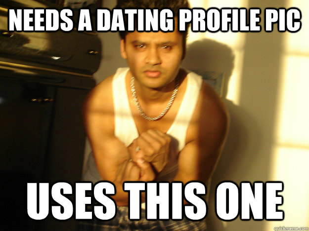 needs a dating profile pic uses this one - Chodu Swaroop