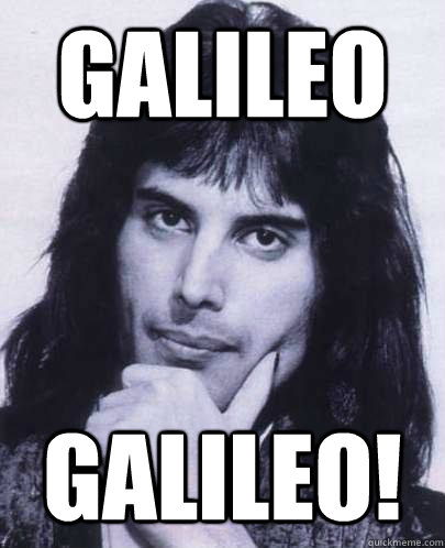 galileo galileo - Good Guy Freddie Mercury