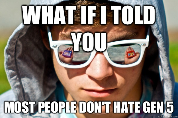 What if I told you Most people dont hate Gen 5 - Pokemon Morpheus