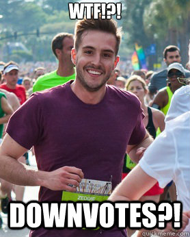 wtf downvotes - Ridiculously photogenic guy
