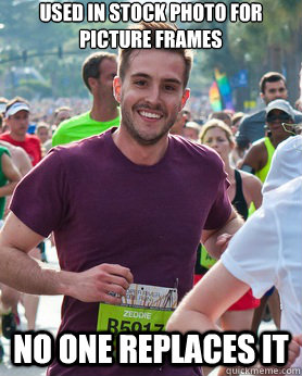 used in stock photo for picture frames no one replaces it - Ridiculously photogenic guy