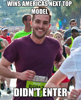 wins americas next top model didnt enter - Ridiculously photogenic guy