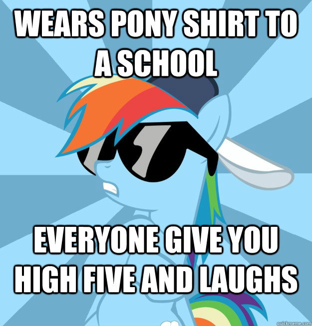 brony high five