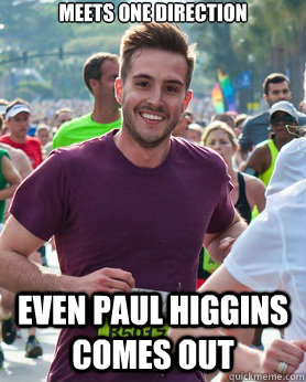 Ridiculously photogenic guy - meets one direction even paul higgins