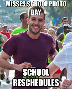 misses school photo day school reschedules - Ridiculously photogenic guy