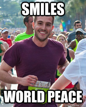 smiles world peace - Ridiculously photogenic guy