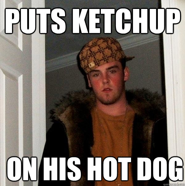 Ketchup on a Hot Dog - Orioles vendor