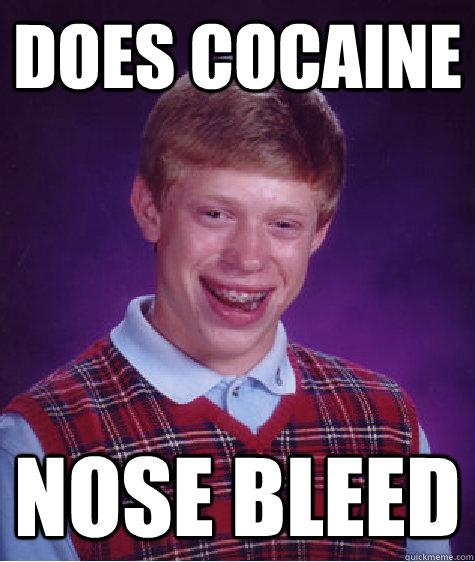 Coke and weird 'nose bleeds' - SoberRecovery : Alcoholism ...