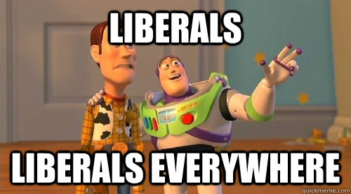 liberals liberals everywhere - Buzz Kill