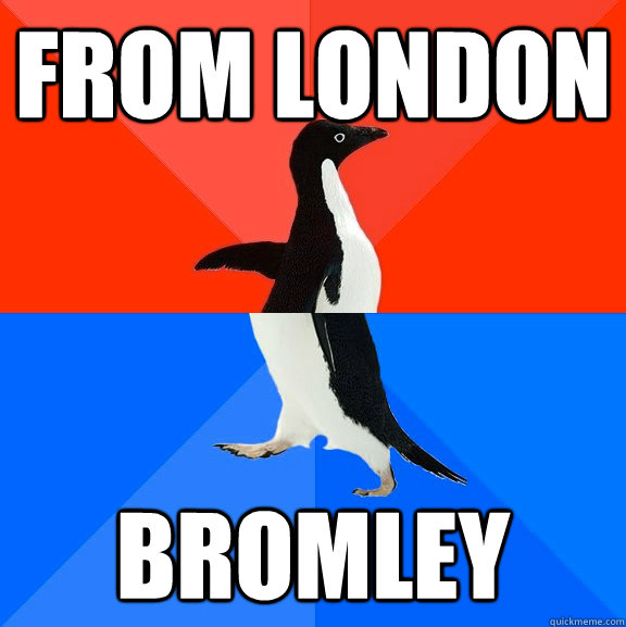 from london bromley - Socially Awesome Awkward Penguin