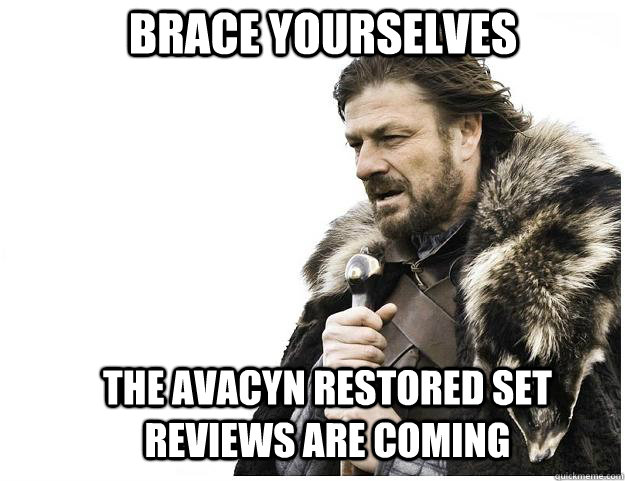 brace yourselves the avacyn restored set reviews are coming - Imminent Ned