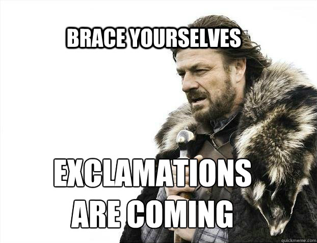 brace yourselves exclamations are coming - BRACE YOURSELF SOLO QUEUE