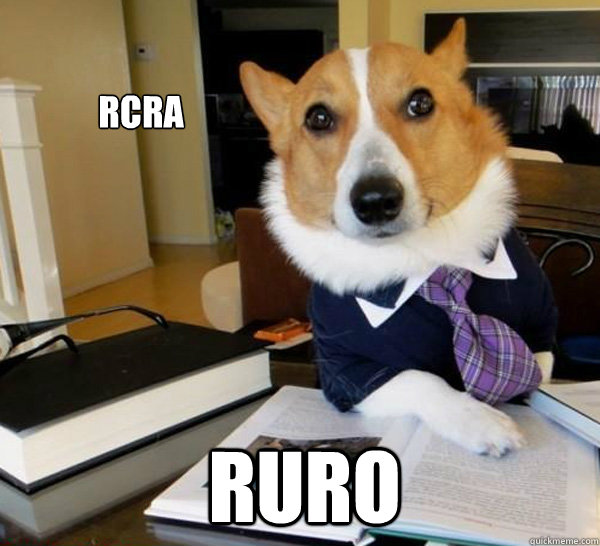 rcra ruro - Lawyer Dog