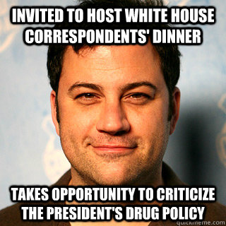 invited to host white house correspondents dinner takes opp -
