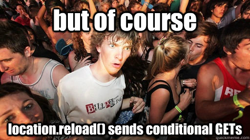 Sudden clarity