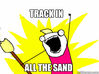 track in all the sand - All The Things