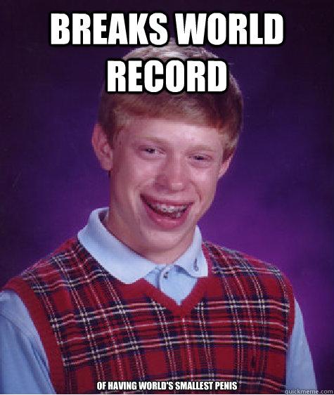 world record smallest dick
