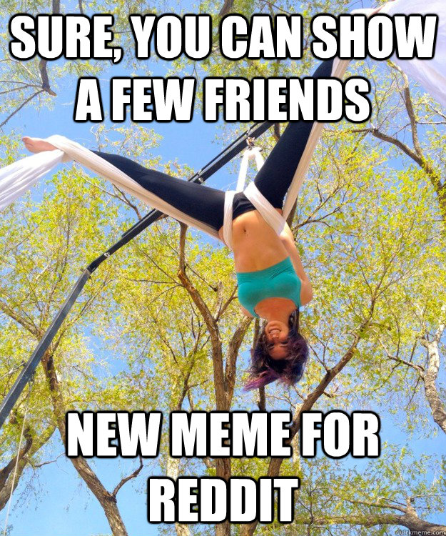 sure you can show a few friends new meme for reddit - Redditors Friend