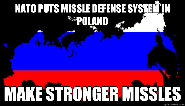 nato puts missle defense system in poland make stronger miss - Redundant russia