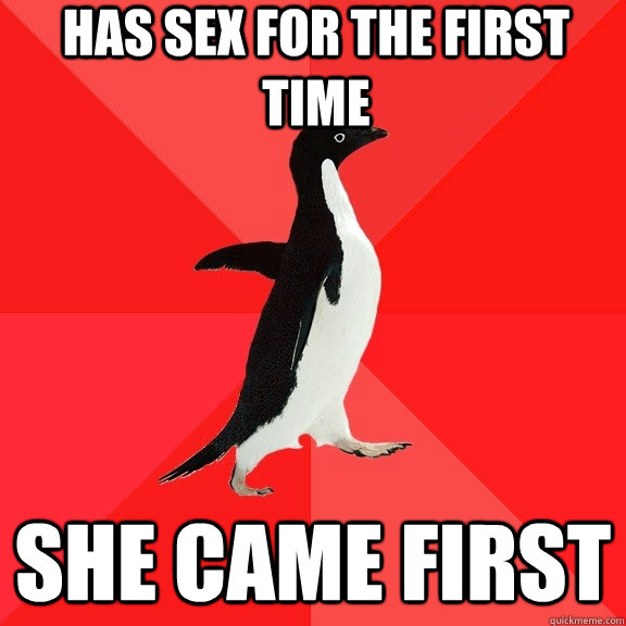 has sex for the first time she came first - Socially Awesome Penguin