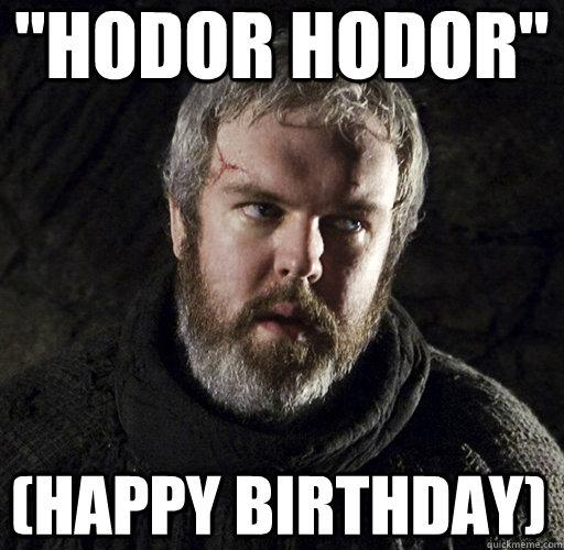 Hodor Cat Meme