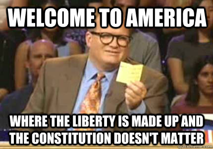 welcome to america where the liberty is made up and the cons - Drew carey