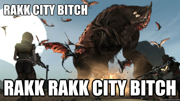 rakk city bitch rakk rakk city bitch - Rakk City